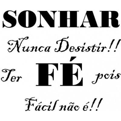 Camiseta Sonhar Frases Fé Sonhos R 3198 Em Mercado Livre