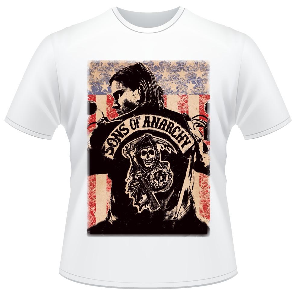 e3209515f375a camiseta sons of anarchy filhos da anarquia samcro soa. Carregando zoom.