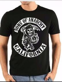 75f5549dbba51 Camiseta Filhos Da Anarquia Samcro Camisetas Masculino - Camisetas e Blusas  no Mercado Livre Brasil