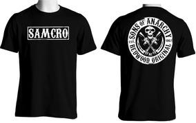 9d676822d9dd0 Camiseta Samcro Son Of Anarchy - Calçados, Roupas e Bolsas com o Melhores  Preços no Mercado Livre Brasil