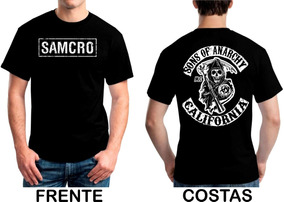 e807afeea033c Camiseta Samcro - Camisetas Masculinas Curta com o Melhores Preços no  Mercado Livre Brasil
