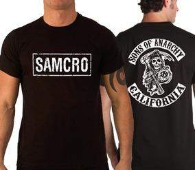 986ca42523e73 Pet Filhos Da Anarquia - Camisetas Masculinas com o Melhores Preços no  Mercado Livre Brasil