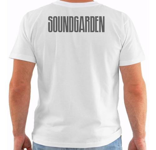 camiseta soundgarden - concert poster - live seattle pb m100