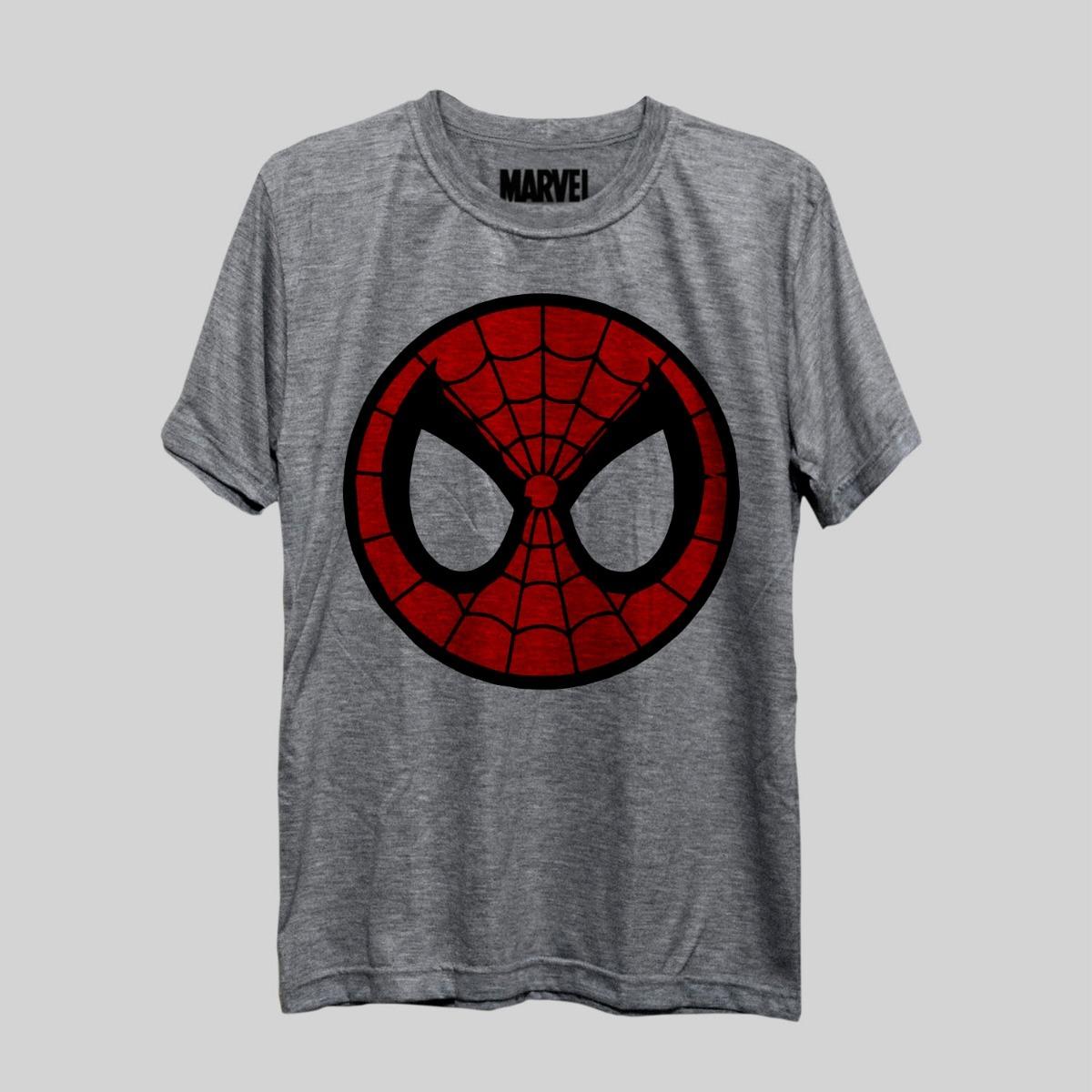 d7b9105af camiseta spiderman simbolo face homem aranha marvel freekz. Carregando zoom.