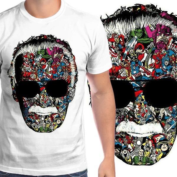 1a2b5a121f Camiseta Stan Lee - Casa Das Idéias - R  46