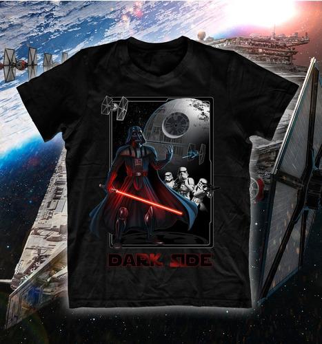camiseta star wars dark side