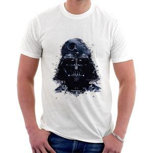 camiseta - star wars - darth vader - estrela da morte