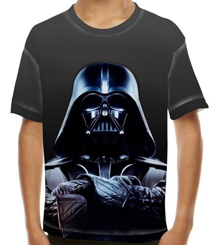 camiseta star wars darth vader gruff infantil