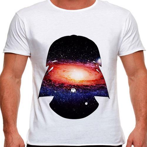 camiseta star wars darth vader space masculina
