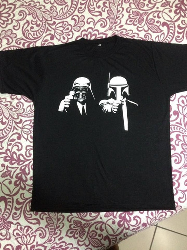 camiseta star wars estampa exclusiva, em silkscreen.