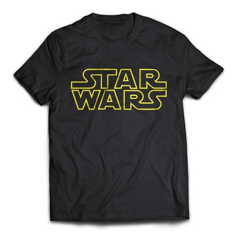 camiseta star wars logo rock activity