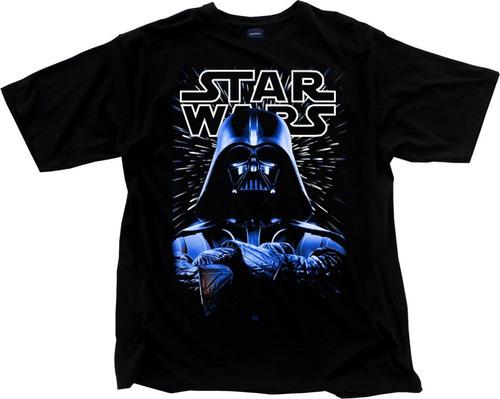 camiseta star wars personalizadas darth vader filmes vilao