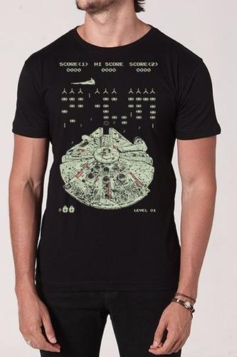 camiseta star wars   space smuggler - chico rei