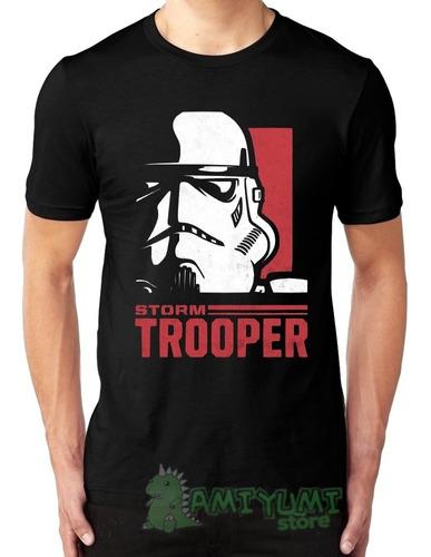 camiseta star wars storm trooper camisa todos tamanhos