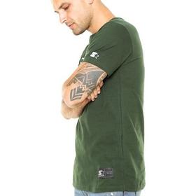 Camiseta Starter Masculina Manga Curta Verde