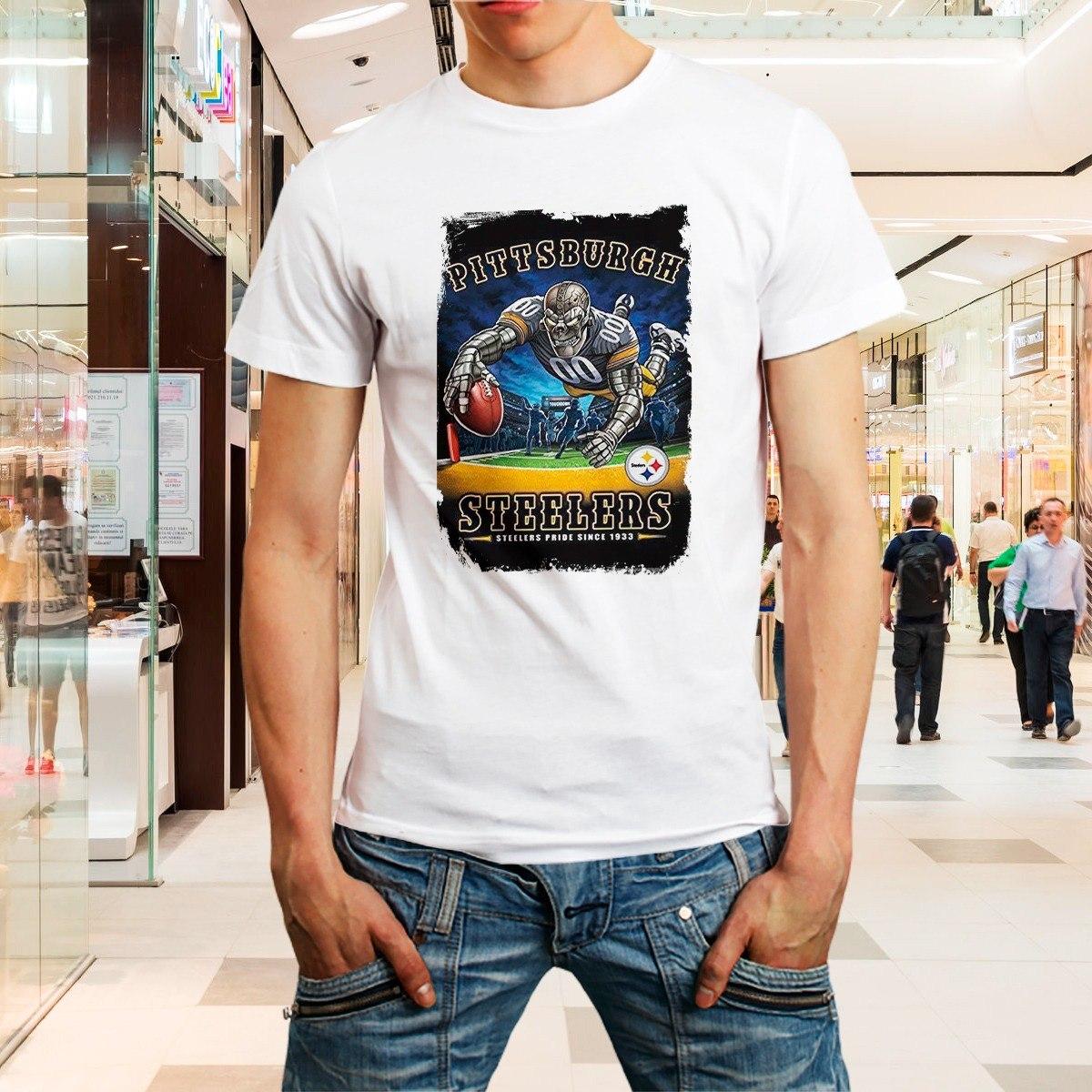 56d7a2aaa6 camiseta steelers camisa futebol americano nfl roupa homem. Carregando zoom.