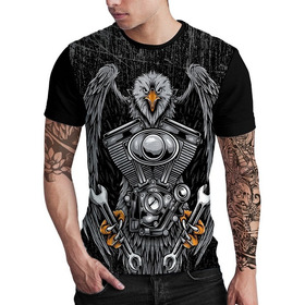 Camiseta Stompy Eagle Motor Rock