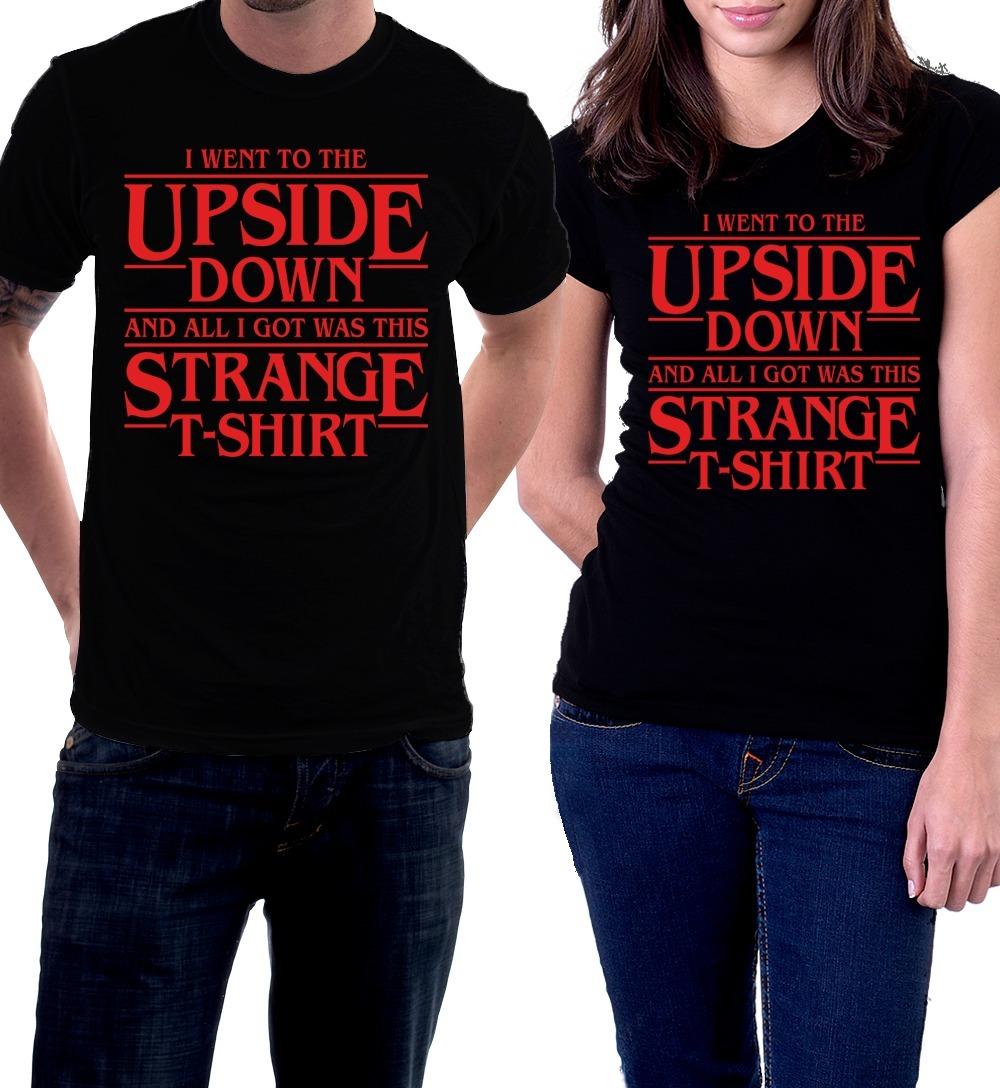 4a2aa161687d Camiseta Stranger Things Netflix Eleven Mundo Invertido 11