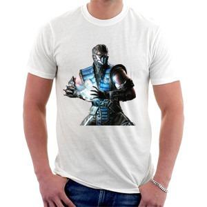 camiseta sub zero - mortal kombat x - games - luta