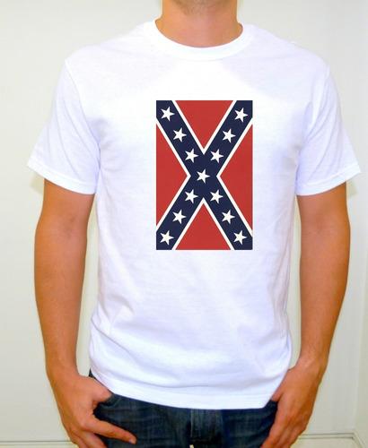 camiseta sublimada dukes de hazzard bandera confederada