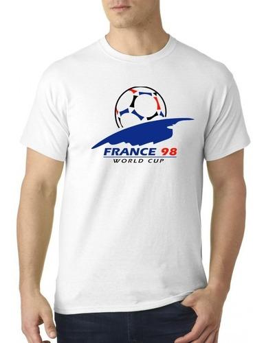 camiseta sublimada francia 98 / mundial