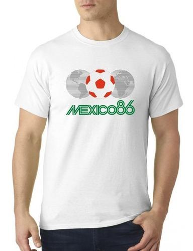 camiseta sublimada méxico 86 / mundial