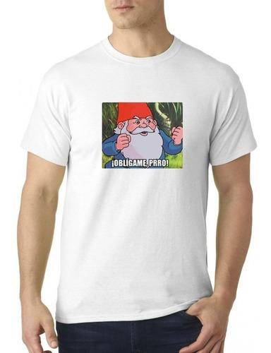 camiseta sublimada oblígame perro