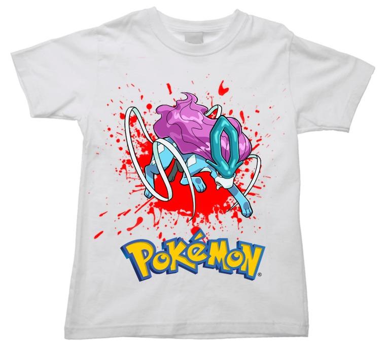 c620203e Camiseta Suicune Pokemon Go Game Anime Infantil - R$ 38,86 em ...