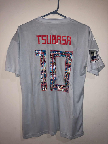 camiseta súper campeones capitán tsubasa oliver atom japón