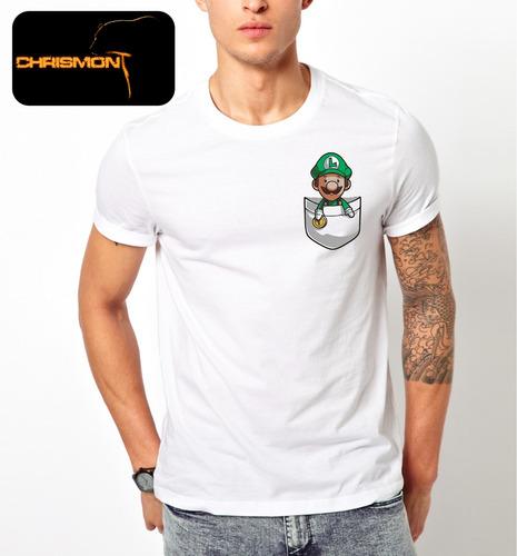 camiseta súper mario chrismont sublimada
