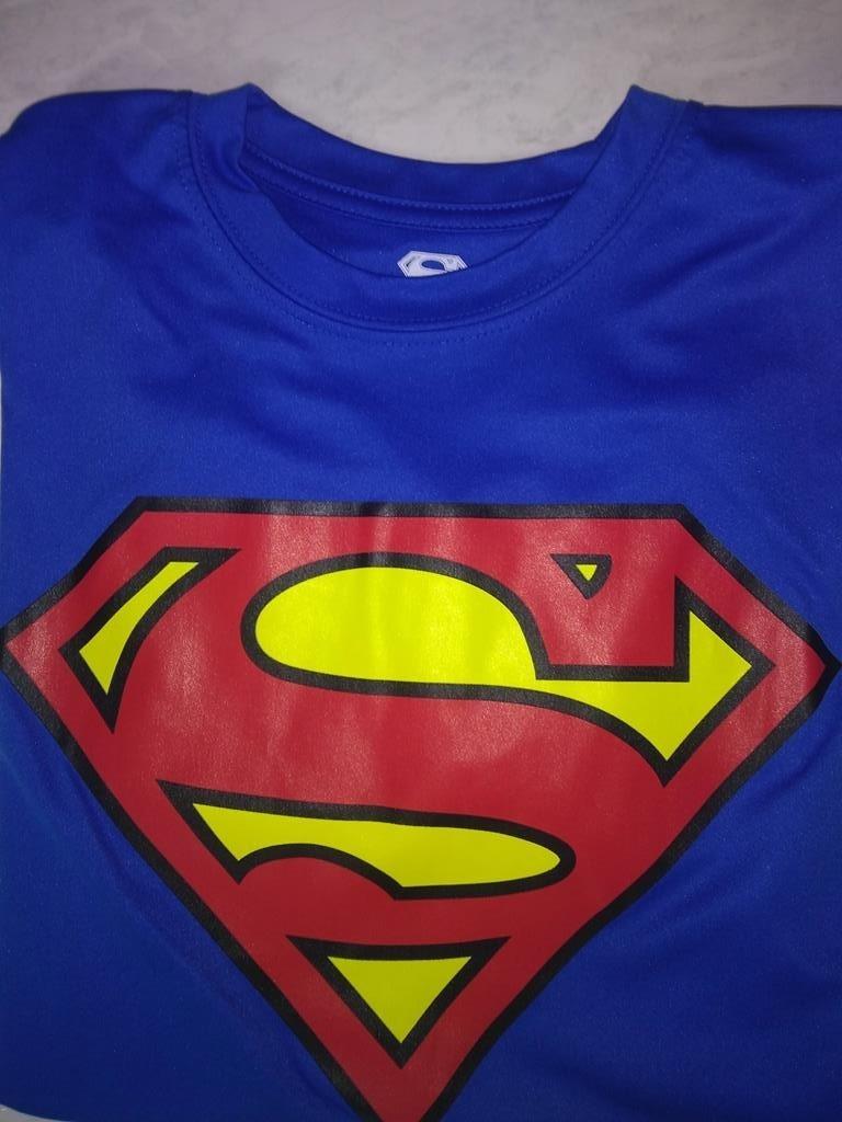 Camiseta Superman Azul Polyester Talla S   34.990 100%origin ... a833de31f08