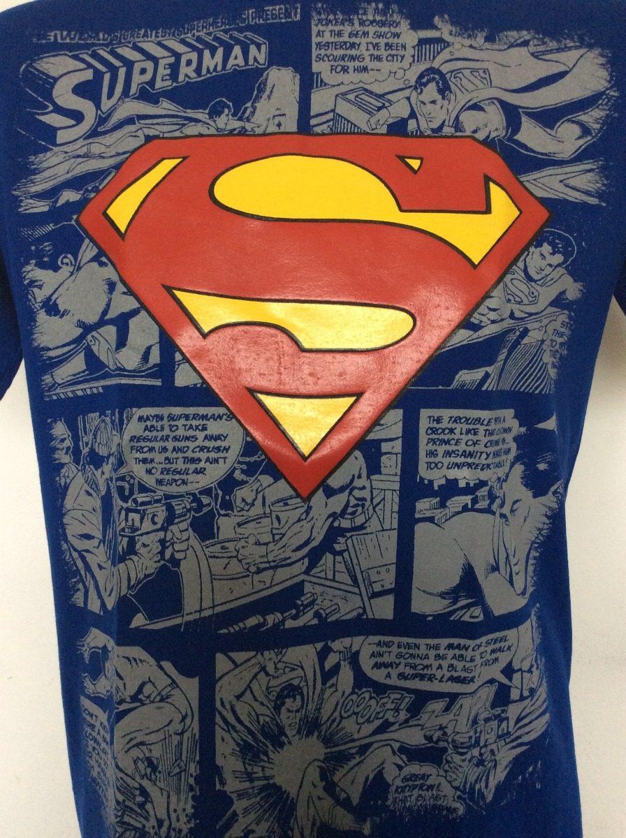 90a5a908a Camiseta Superman Comic Dc Rock Metal Anime Heroes -   19.990 en ...