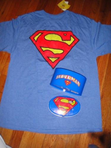 camiseta superman en tarro xlarge ( 294 )