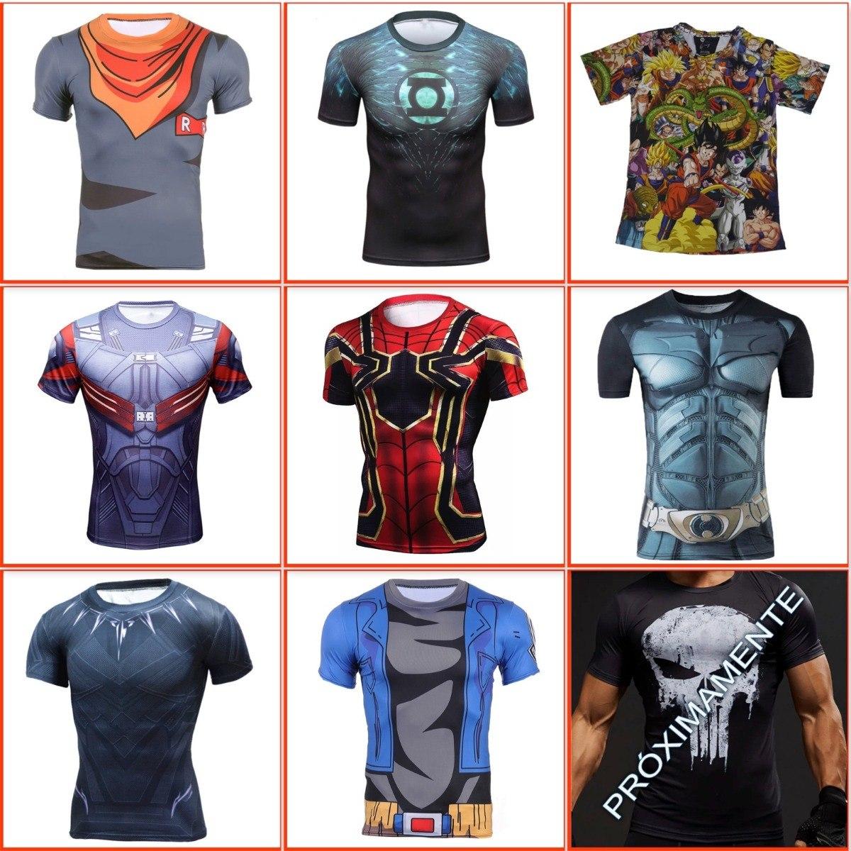 f919551e8c089 camiseta superman gym dc comics superheroes lycra spandex. Cargando zoom.