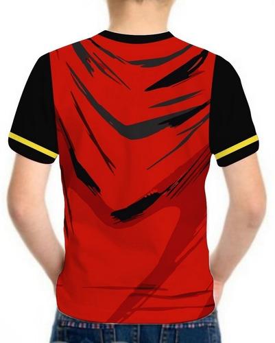camiseta superman infantil blusa masculina roupas herois