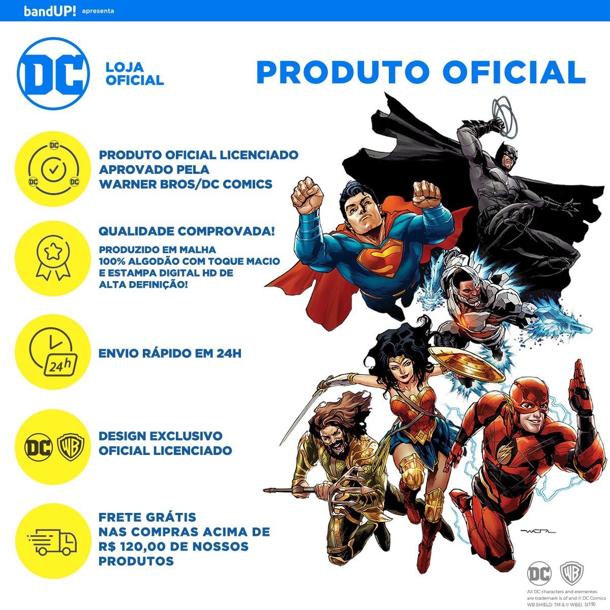 e9de72226d Camiseta Superman Logo Oficial Masculina Azul - R$ 69,90 em Mercado ...