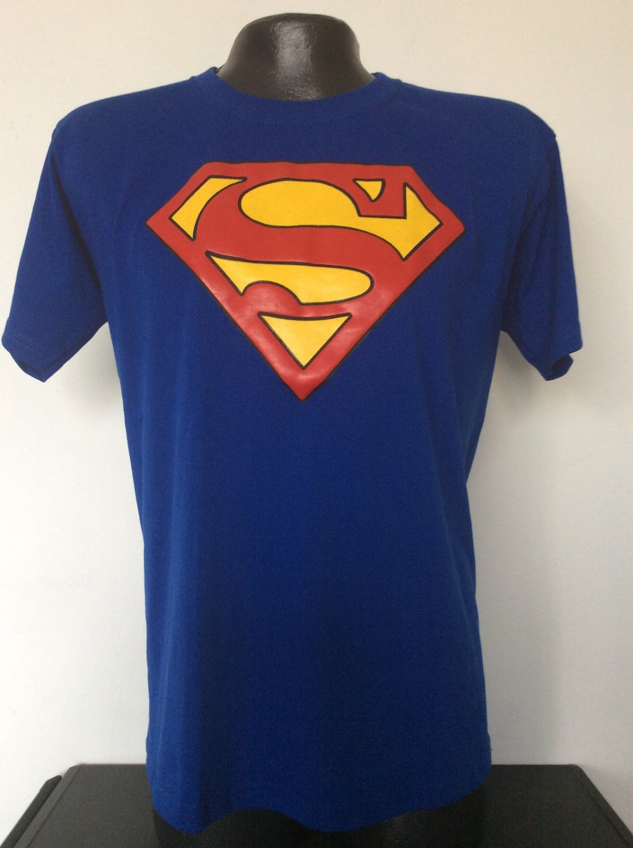 Camiseta Superman Logo Superheroes Anime Metal Comics Salsa ... 9351dd244dcf9