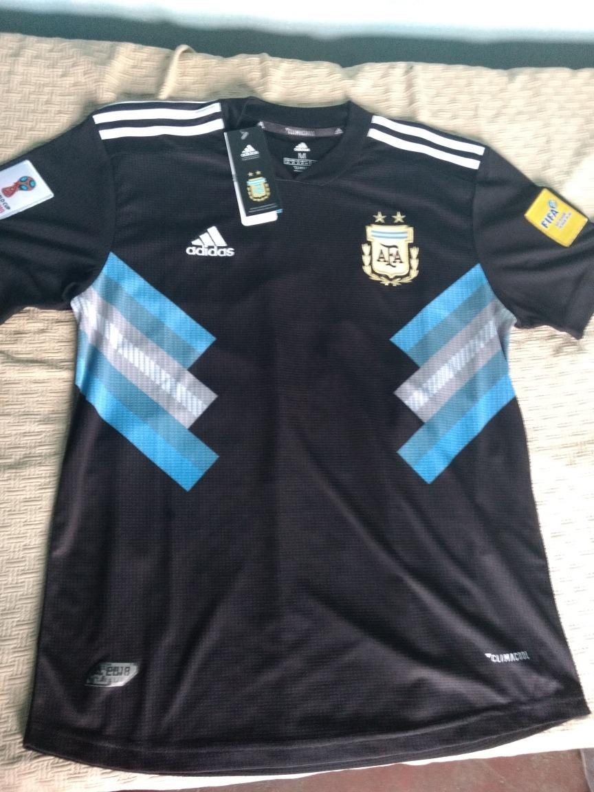 b933ebbb6d089 camiseta suplente argentina adidas mundial 2018 con parches. Cargando zoom.