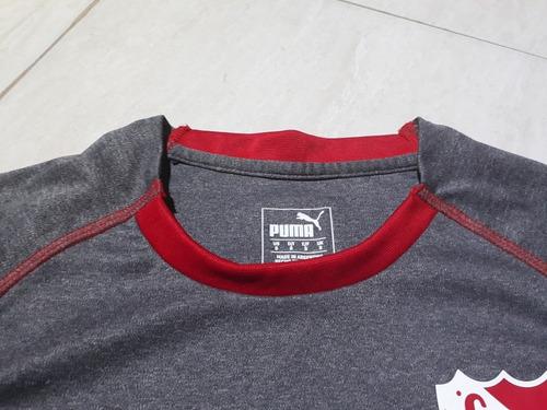camiseta suplente de independiente gris puma