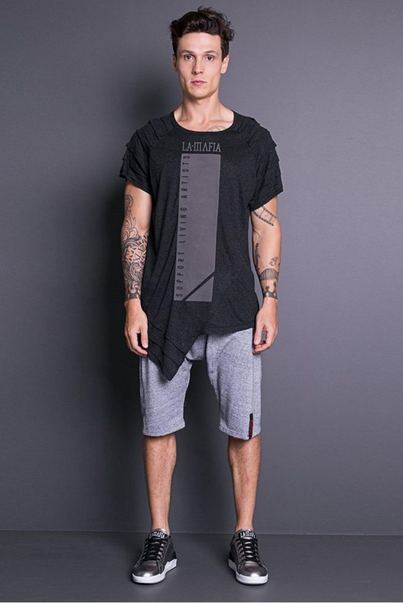 c3eacfcc7 Camiseta Support Living Artists Hcs12515- La Mafia - R  139