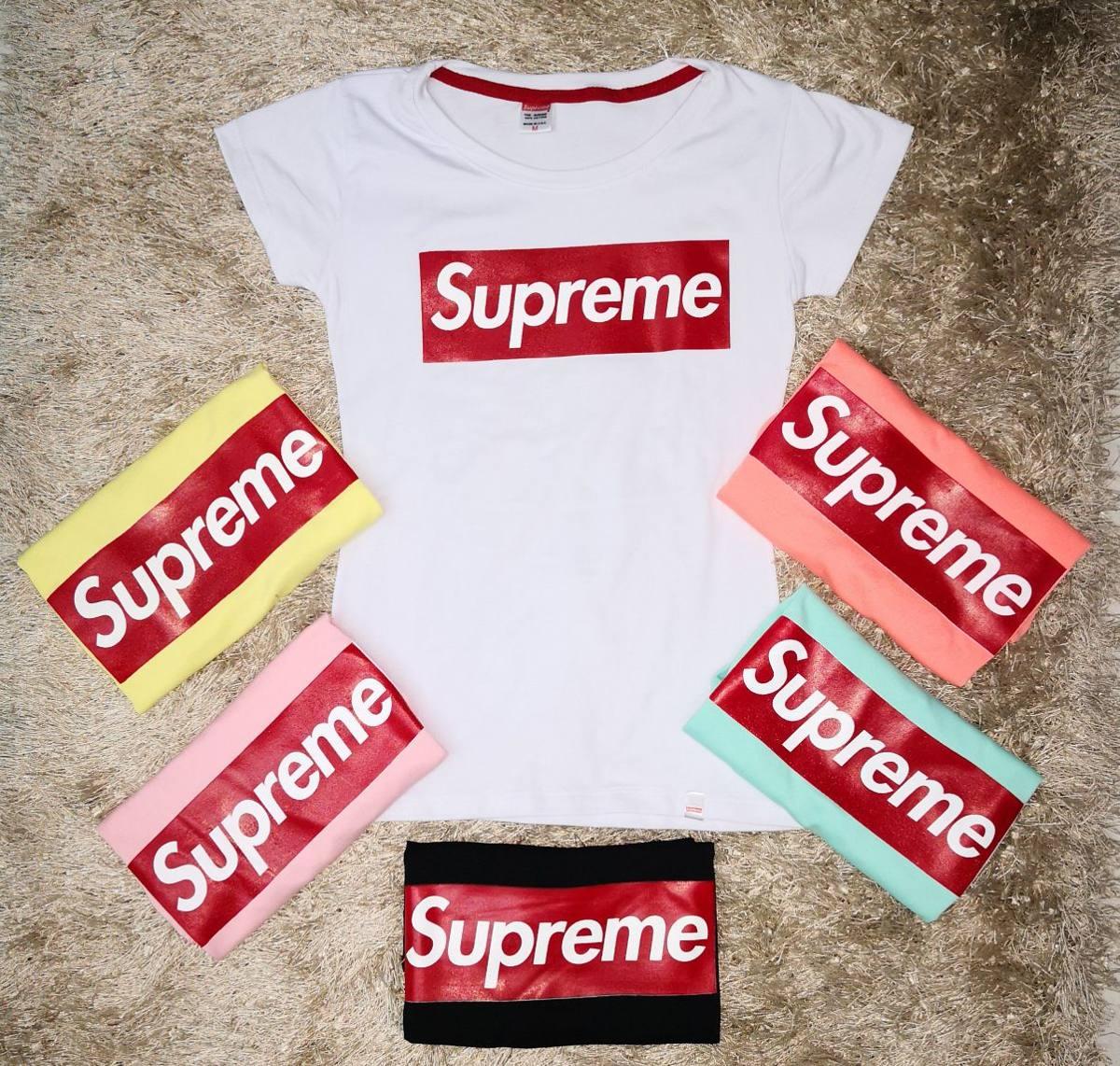 estilo de moda tiendas populares mejor venta Camiseta Supreme Gucci Dama - $ 33.000 en Mercado Libre