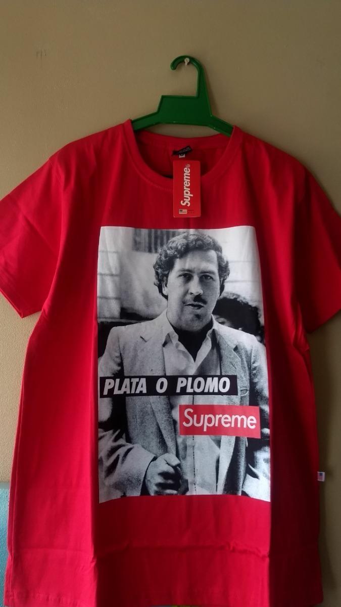 Camiseta Supreme - Pablo Escobar - R$ 69,99 Em Mercado Livre