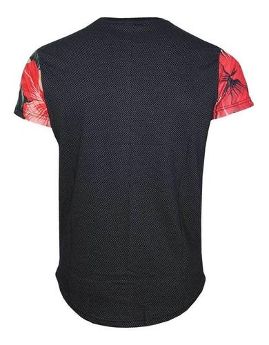 camiseta swag em malha micro furos original polo rg518