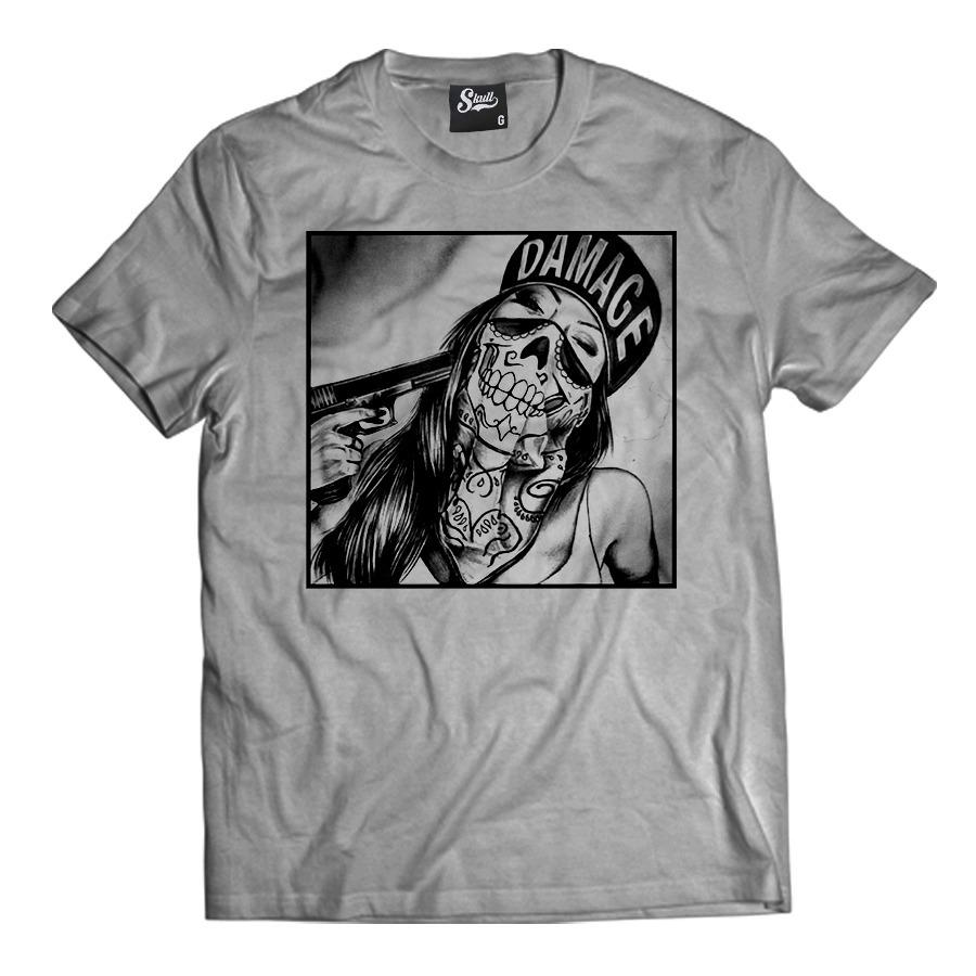 camiseta swag girl sexy criminal thug life tumblr camisa rap. Carregando  zoom. fa898a2228d