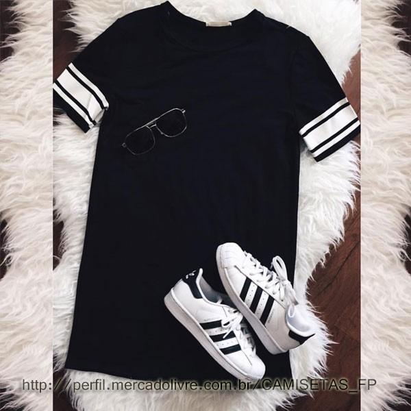 c8fc5716ce Camiseta Swag Masculina Estilosa Básica Hip Hop Balada Moda - R  40 ...