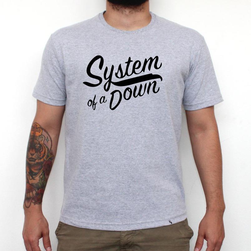 camiseta system of a down banda de rock personalizada 2. Carregando zoom. ee6e8ee886b7b