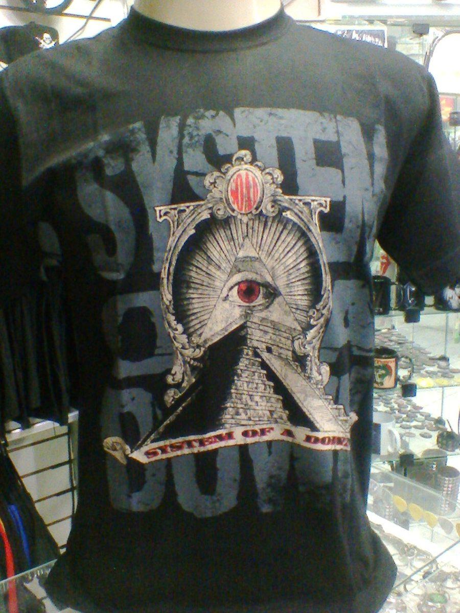 bed7df1378698 camiseta system of a down - toxicity piramide. Carregando zoom.