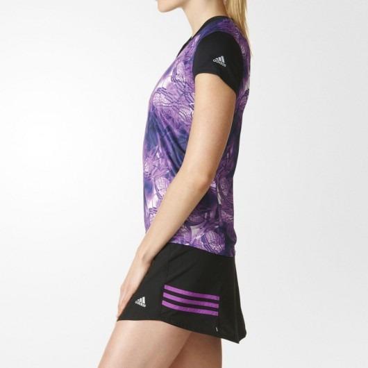 0fe9aac8c737f Camiseta T Shirt adidas Running Treino Fit Feminina Tam. M - R$ 64 ...