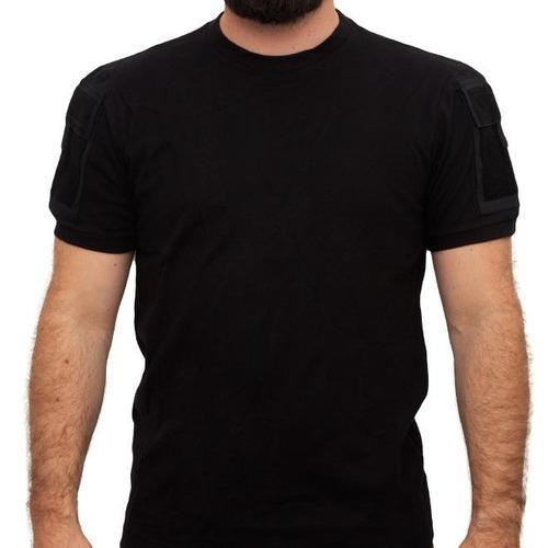 camiseta t-shirt army preta - invictus