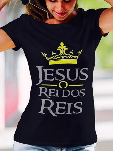 bca41320c Camiseta T-shirt Feminina Gospel